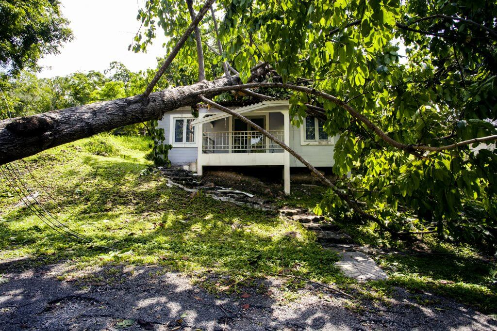 storm damage cleaning in La Vergne Smyrna Murfreesboro TN